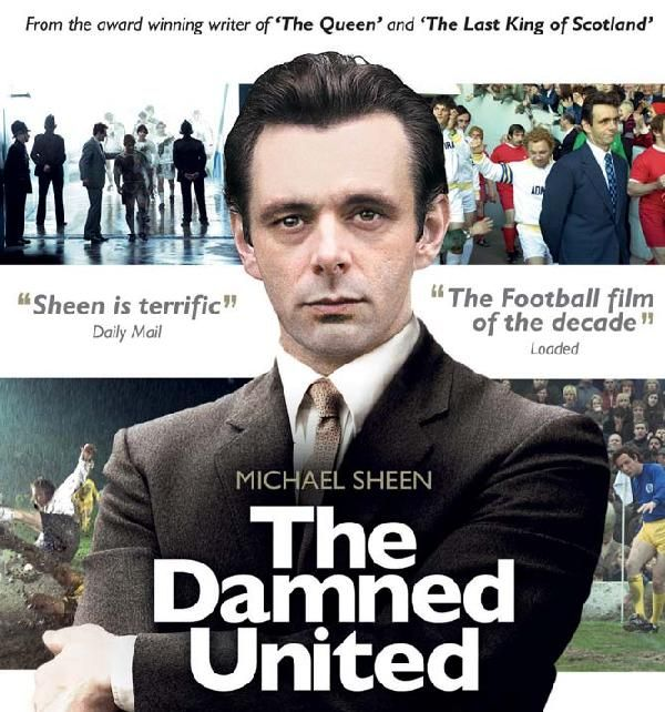Michael Sheen The Damned United | Except... that wasn't the poster. The image above is from the DVD ...