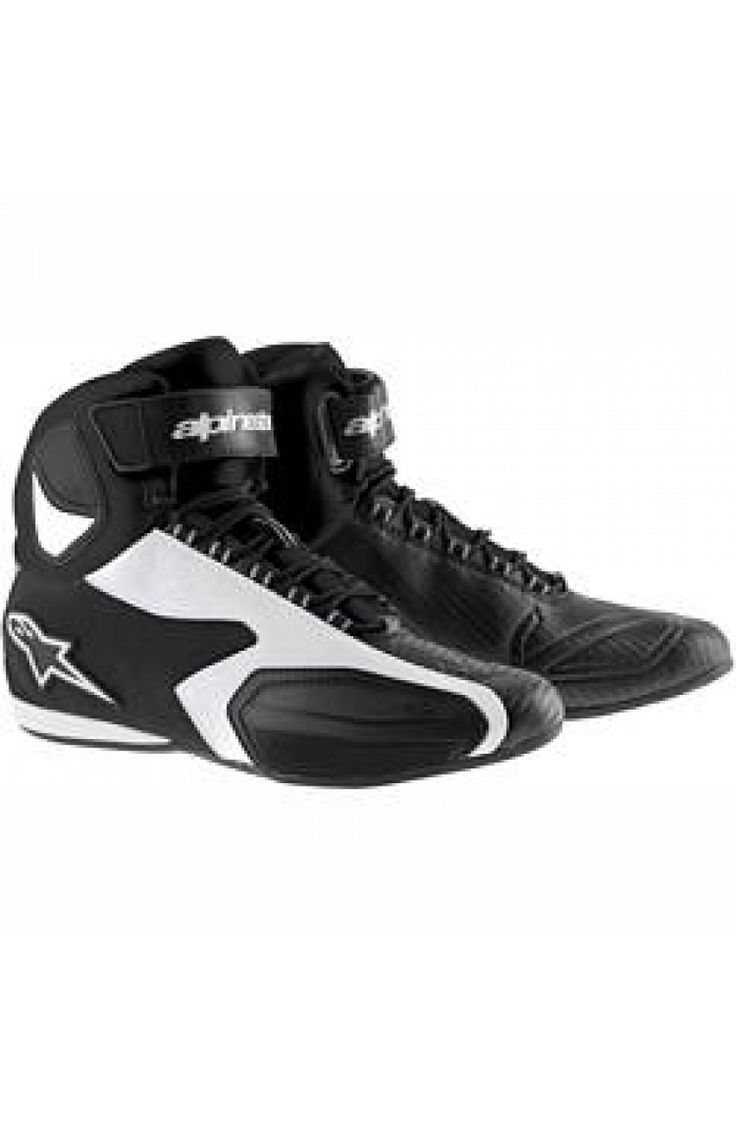 Ghete Alpinestars Faster Black/White