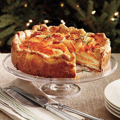 Potato Gratin with Rosemary Crust // Southern Living (springform pan)