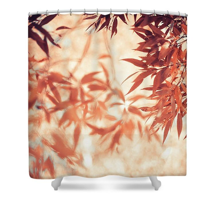 Jenny Rainbow Fine Art Photography Shower Curtain featuring the photograph Autumnal Foliage Frame by Jenny Rainbow