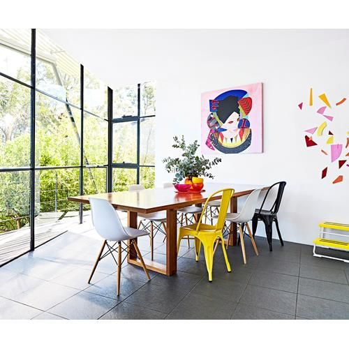 A colourful and eclectic mid-century home in Beaumaris, Victoria. Photography: Mike Barker   Styling: Paige Anderson   Story: real living