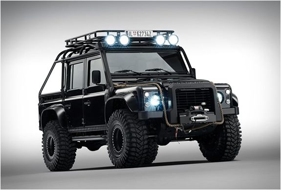 "LAND ROVER DEFENDER SPECTRE  Land Rover´s Special Vehicle Operations department were recently commissioned by the team of the latest James Bond adventure - Spectre (hits cinemas on November 5), to modify the iconic Land Rover Defender and feature it in the movie. The end result is this military beast named ""Big Foot"", ..."
