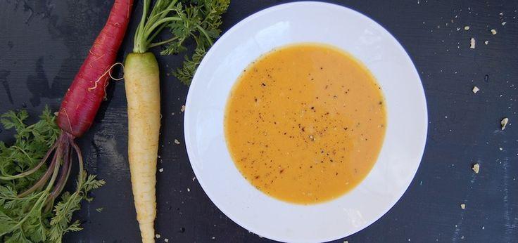 Warming Vegan Carrot-Ginger Soup