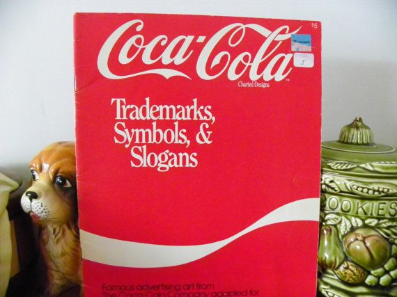 Crosstitch Pattern Book  Coca Cola by MillersHollowGifts on Etsy