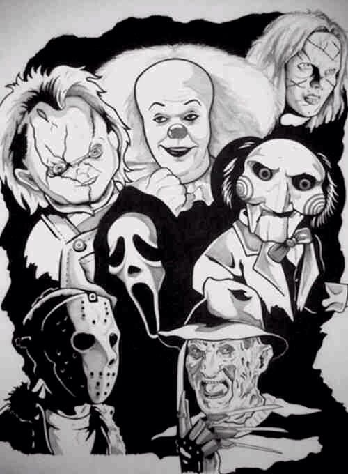 Horror All Things Horror Pinterest Scary Movies Horror And