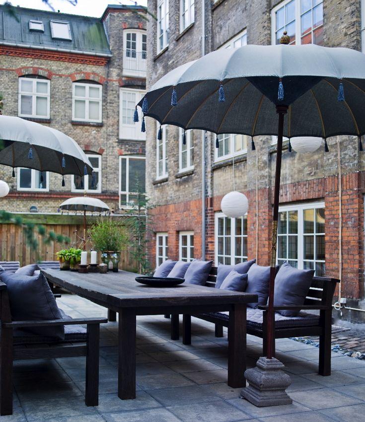 The Copenhagen Table for Rabens Saloner in reclaimed ironwood. Designed by DvdG for Kayu Naga.