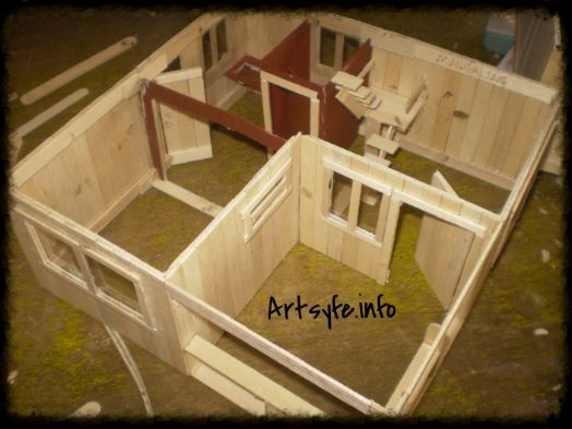 1000 ideas about popsicle stick houses on pinterest for Cool popsicle stick creations