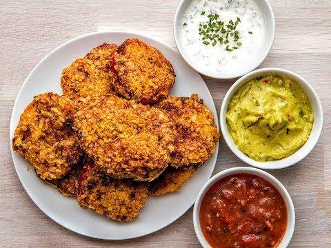 Chicken Fajita Pepper Rings - YouTube