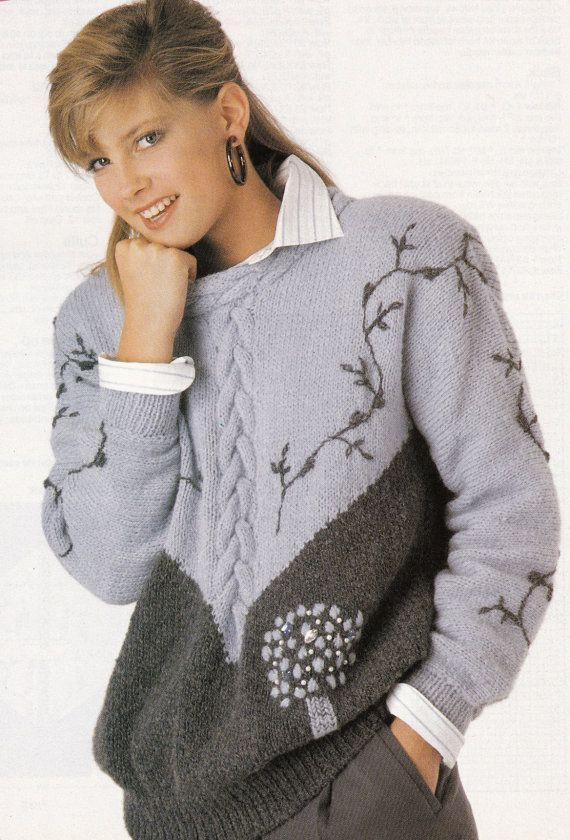 knitting patterns jumpers ladies - Google Search