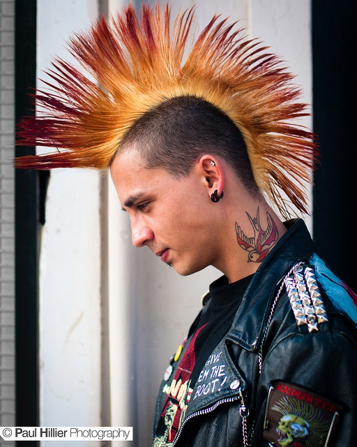 Toronto Punk Fashion By Paul Hillier Photography Via
