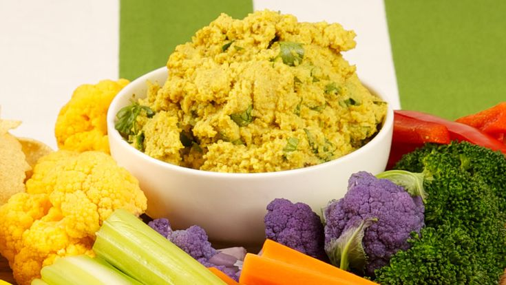 Roasted Curry Cauliflower Dip - Recipes - Best Recipes Ever - Roasting the cauliflower brings out a depth of flavour in this gorgeous dip. Serve this hint-of-curry spread with pappadams or crudités.