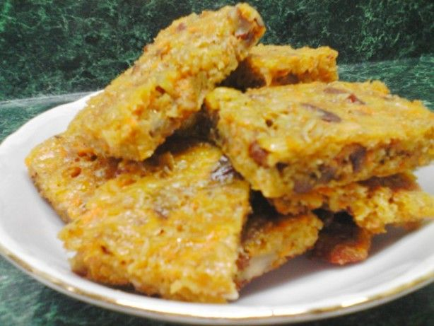 cheesy and nutty oat flapjacks
