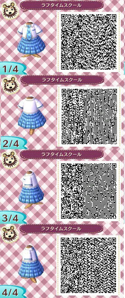 Animal Crossing New Leaf schoolgirl uniform << Reminds me of the Princess Diaries school uniforms.