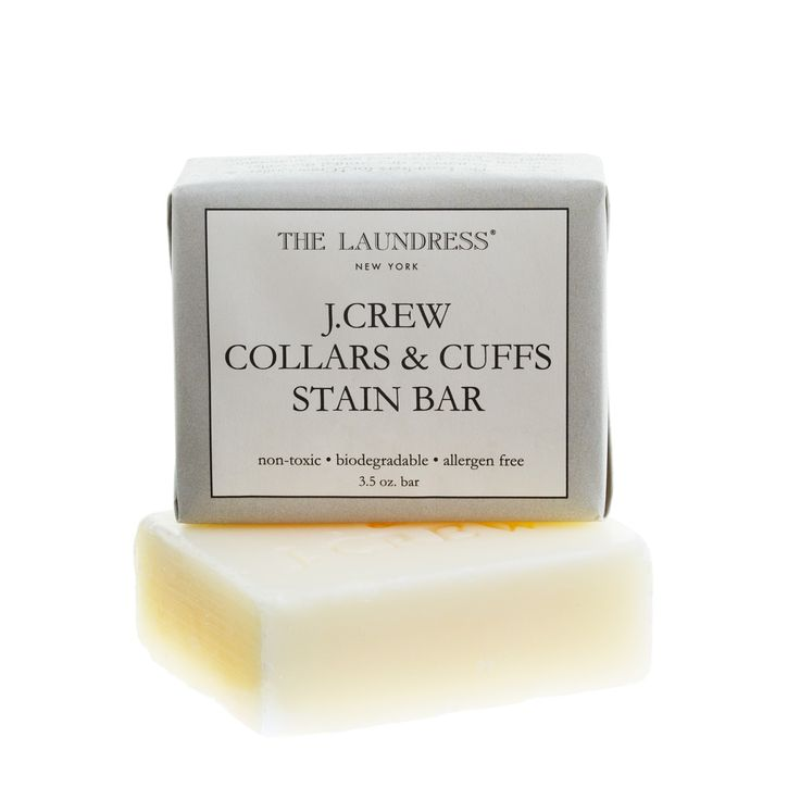 J.Crew Father's Day Shop: men's The Laundress New York® for J.Crew collars & cuffs stain bar.