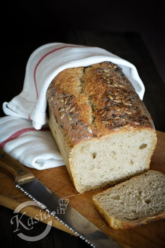 łatwy chleb na zakwasie bez wyrabiania