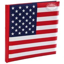 US Gæstebog - Amerikansk US tema borddækning - amerikansk flag paptallerken, papkrus, servietter med det amerikanske flag - 4th of july fest bordpynt