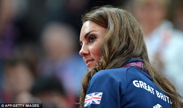 Kate, who is a Team GB ambassador, has been cheering along the athletes in their bid for gold