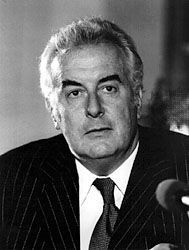 Gough Whitlam #21... 1972 - 1975, dismissed by the Governor General Sir John Kerr.