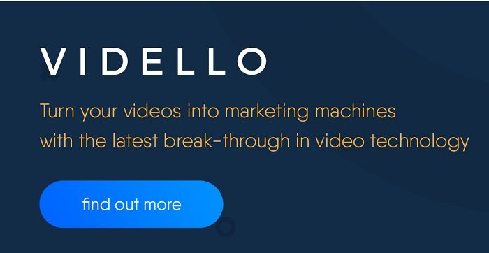 Vidello Review : Vidello is a video hosting and marketing platform and it enables you to trn your videos into powerful marketing machines on your websites.