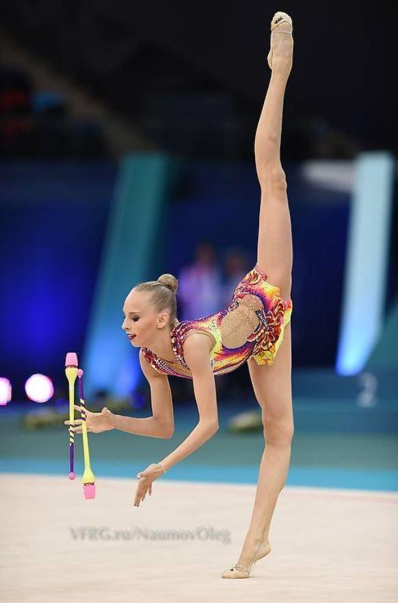Yana Kudryavtseva, Russia; European Championship, Baku 2014 #rhythmic_gymnastics