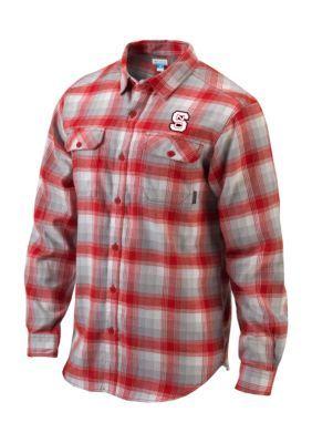 Outdoor Custom Sportswear Ncst Flare Gun Flannel - Red - 2Xl