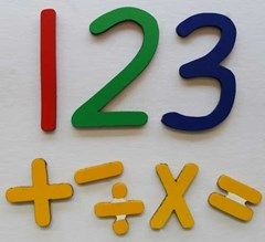 $26 Numbers & signs (green numbers, yellow signs, QLD script)