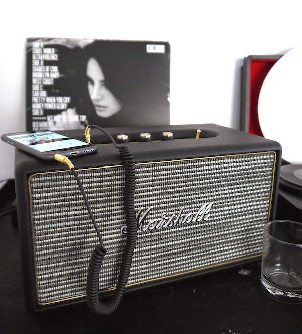 Vinyl records and modern recordplayers #Marshall