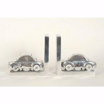 Personalised CAR BOOKENDS - Aluminium