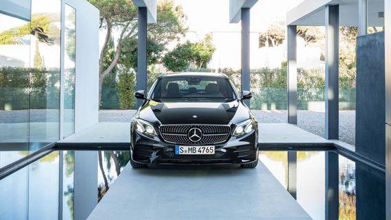 Седан Mercedes-AMG E43 2017 / Мерседес-AMG Е43 2017 - вид спереди