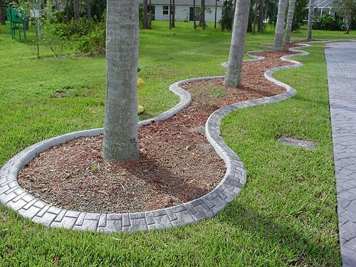 Best Landscape Curbing Images On Pinterest Landscape Curbing - Design continuous free form concrete landscape edging by kwik kerb
