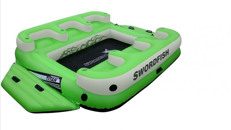 Swordfish Floating 6-Person Titan Platform - Pools, Swimming Aids & Games…