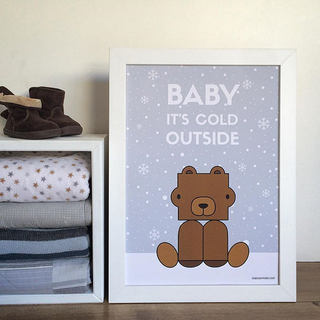 ❄️Baby it's cold outside❄️ #coolkids #happykid #kidsroom #kidsroomdecor #babyroom #kidsroomdecor #babyitscoldoutside