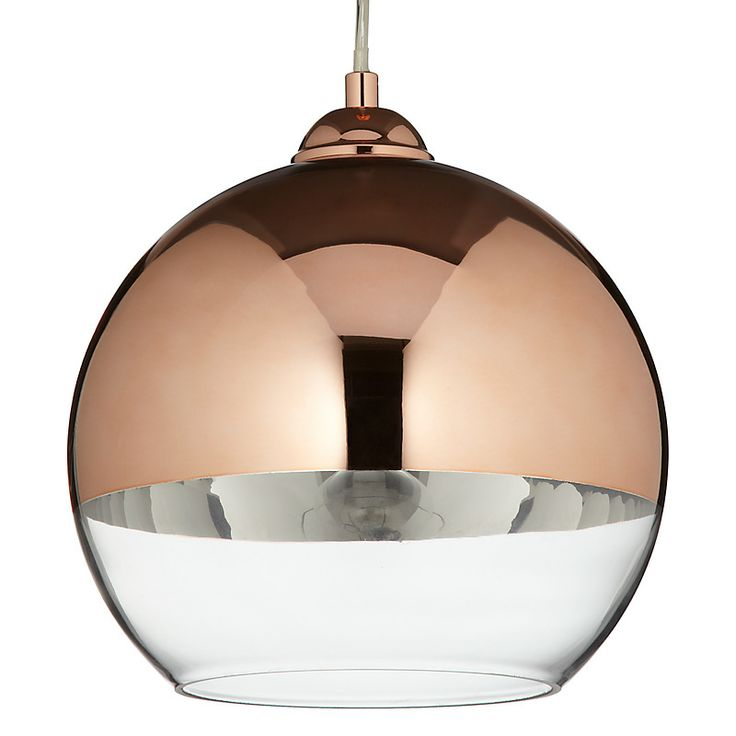 Buy John Lewis Celeste Ceiling Light, Copper, Small Online