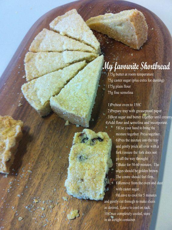 Delia Smith Shortbread recipe