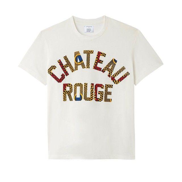Image 0 T shirt col rond manches courtes MAISON CHATEAU