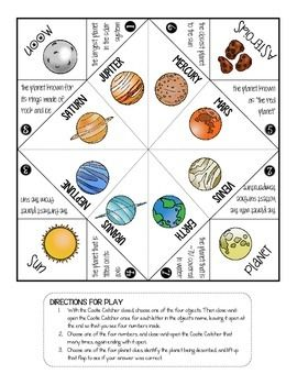 SOLAR SYSTEM - HOW WELL DO YOU KNOW THE PLANETS? (INTERACTIVE NOTES) - TeachersPayTeachers.com