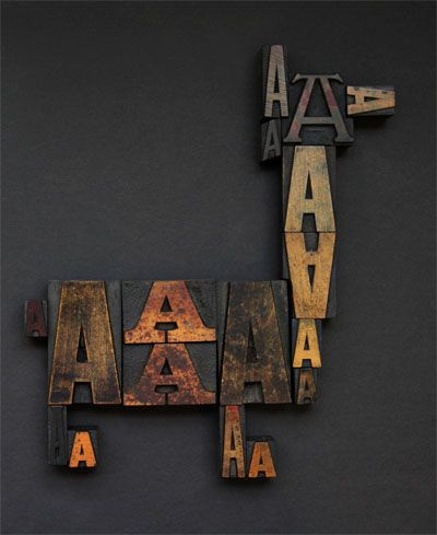 tipos: Types Typography, Cool Wall Art, Design Types, Letters Types Fonts, Animal Design, Help Design, Letterpresses Vintage, Typography Letterpresses, Wood Types