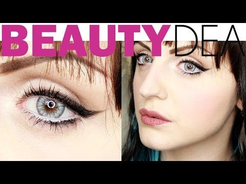 Trucco Nude per occhi azzurri: Tutorial - http://www.beautydea.it/trucco-nude-per-occhi-azzurri-tutorial/ - Ecco un trucco nude leggero e chic perfetto per mettere in risalto gli occhi azzurri!