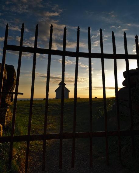 'Varhaug gamle kirkegård' by studio-toffa on artflakes.com as poster or art print $18.03