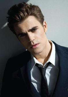 just found out he's married, but he's gorgeous! :) stefan from vampire diaries