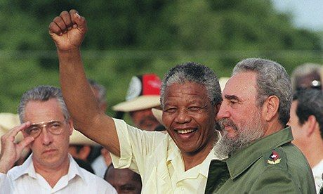 """The Real Mandela story :: """"Along with the struggle for social justice and national liberation, the right to resist tyranny and occupation, and profound opposition to racism and imperial power, that is part of the real legacy of Nelson Mandela."""""""