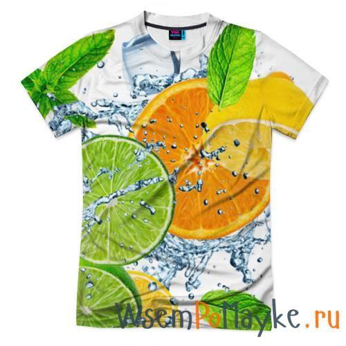 Мужская футболка 3D с полной запечаткой Мятный смузи купить в интернет магазине WsemPoMayke.Ru http://wsempomayke.ru/product/manshortfull/1064596  Доставка по России курьером или почтой, оплата при получении. Посмотреть размеры и цену > http://wsempomayke.ru/product/manshortfull/1064596