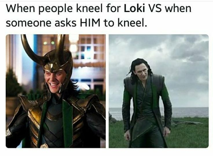 """I️ was disappointed. I️ thought Loki was gonna say """"Hey that's my line!"""" When Hela told him to kneel."""