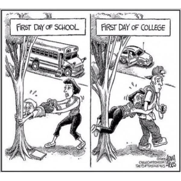 kids: Colleges, Schools, Quote, Funny Stuff, Firstday, So True, First Day, Mom, Kid