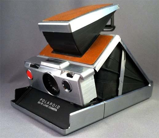 Polaroid SX-70 instant camera  #Polaroid