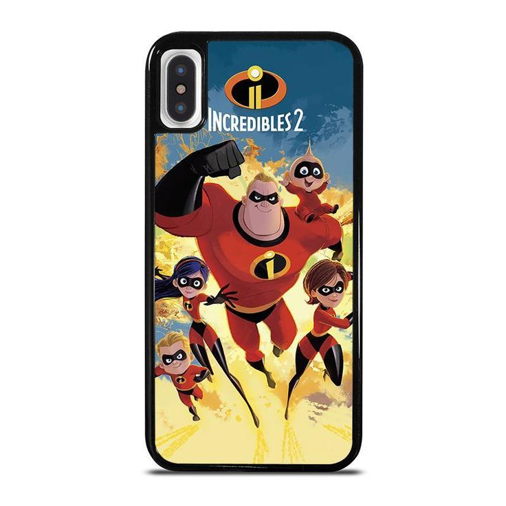 THE INCREDIBLES 2 DISNEY iPhone X / XS Case Cover ...