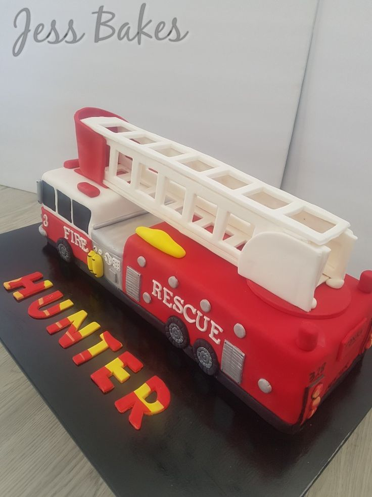 fire truck birthday cake best 25 truck cakes ideas on firefighter 4071
