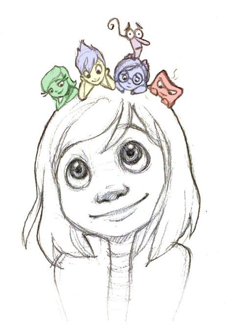 Pixar's Inside Out by loofa-art • Check out our family friendly, educational content and join us as we explore the mysteries of your favorite fictional worlds! Check out: https://m.youtube.com/channel/UCUQQme3DEYMYB095B5-E0kQ #OnlyInTheory