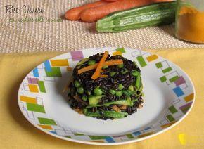 Riso venere con verdure alla curcuma ricetta light il chicco di mais
