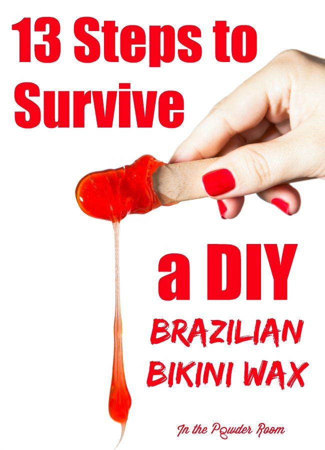 How To Give A Bikini Wax